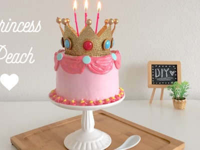 DIY Princess Peach Cake