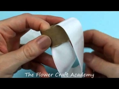 Flower Frill Christmas Napkin Ring Holder Tutorial
