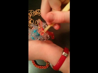 FSU Florida State University Rainbow Loom Bracelet