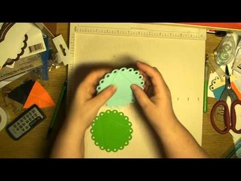 HOW TO MAKE A CHRISTMAS ORNAMENT. BALL