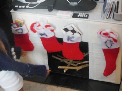 How To Make Doll Christmas Stockings. Boots. Shoes
