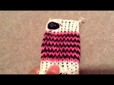 Iphone case rainbow loom
