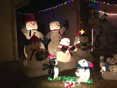 Our Christmas Outdoor Decorations (Dec 2011)
