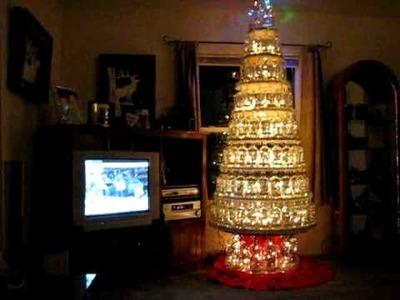 Pendleton Whisky Bottle Christmas Tree