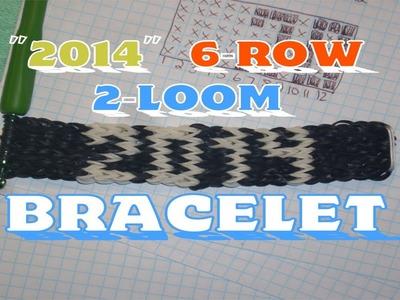 Rainbow Loom 2014 Name Bracelet