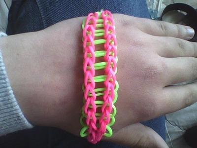 Rainbow Loom - Basic Ladder Bracelet (Easy)