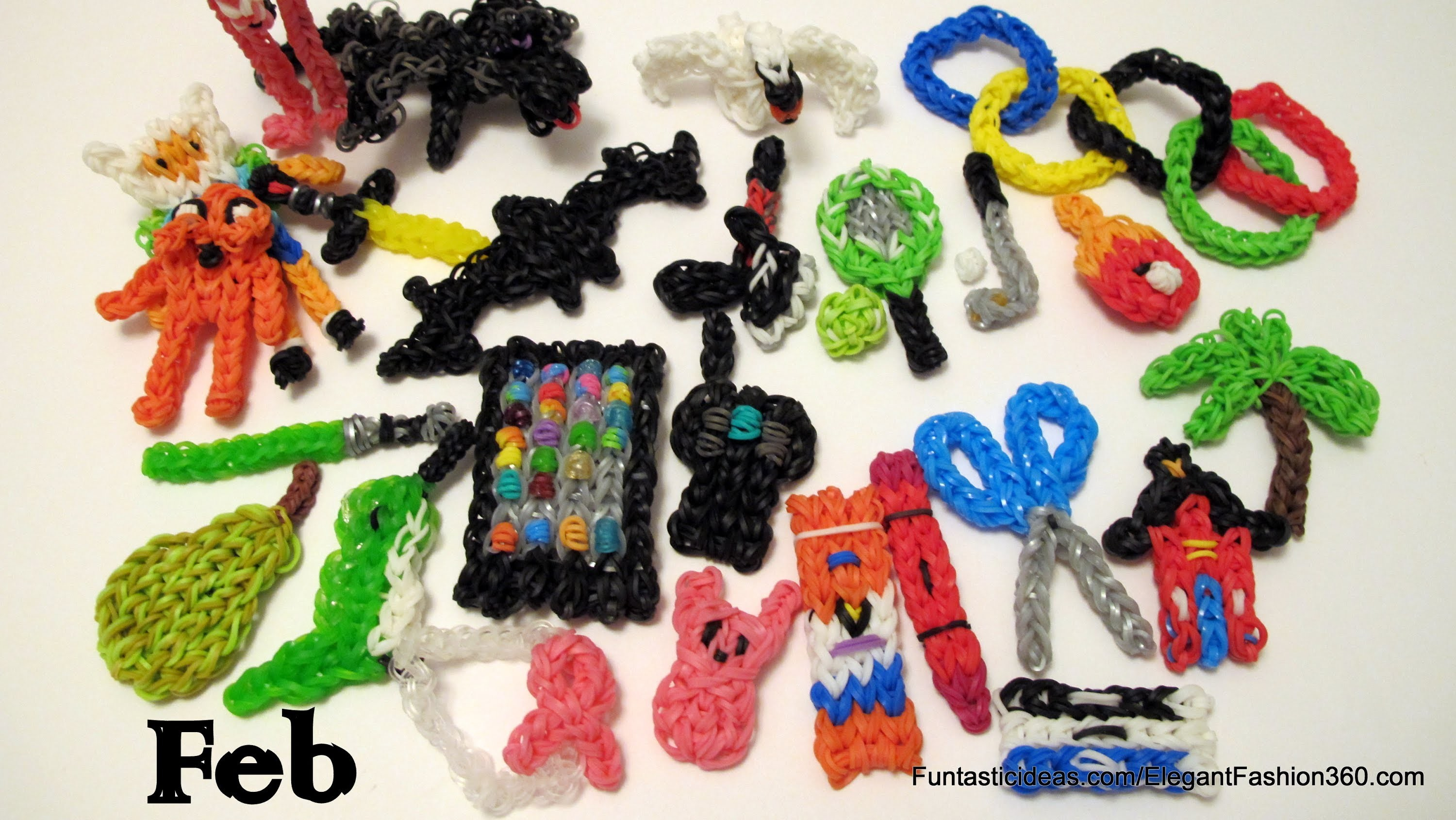 Rainbow Loom Collections by Elegant Fashion 360 - 02-2014
