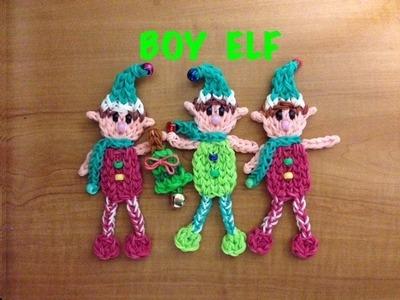 Rainbow Loom Elf Boy ( Christmas )