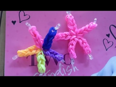 Rainbow Loom Star Fish
