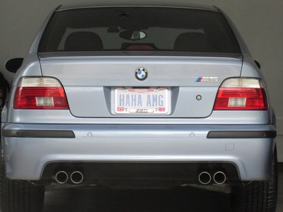 BMW E39 M5 Rear Bumper Replacement DIY