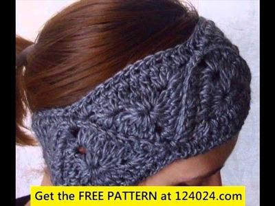 Crochet Vinchas - Headbands or Hairbands