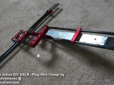 DIY DSLR Rig - Johan Plug Wire Clamps