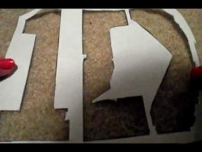 DIY One Direction Stencil!!