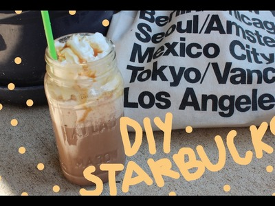 ♡DIY STARBUCKS DRINKS♡ FALL EDITION♡ PUMPKIN SPICE LATTE.FRAPPUCCINO & SALTED CARAMEL MOCHA ♡