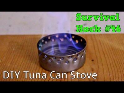 DIY Tuna Can Stove