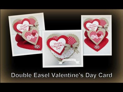 Double Easel Valentine's Day Card