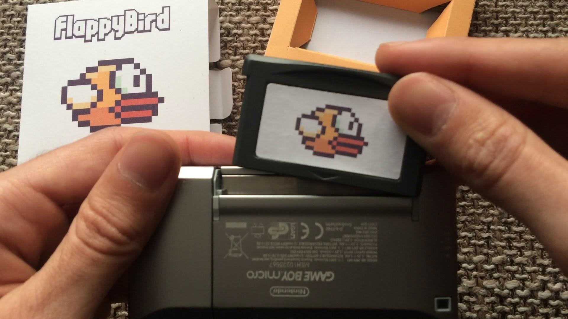 Flappy Bird for Game Boy Advance
