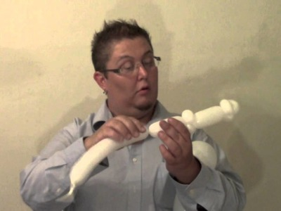 Halloween Ghost Balloon Hairband  | ChiTwist Chicago Balloon Twisting