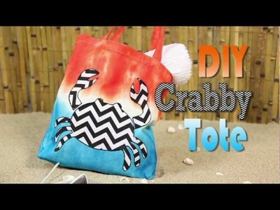 Hit the Beach with Your Very Own DIY Crab Tote!