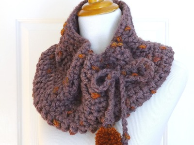 How To Crochet the Plum Skies Cowl, Episode 244
