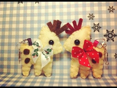 How to Make a Cute Reindeer Plushie
