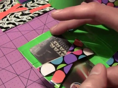 How to make a Duct tape Quad magic wallet!