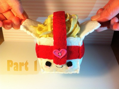 How to Make a Kawaii ''Takeout Noodles'' Plushie (Part 1)
