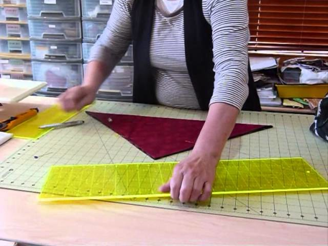 How to make a Pocket Bag using 2 Fat Quarters - Quilting Tips & Techniques 014