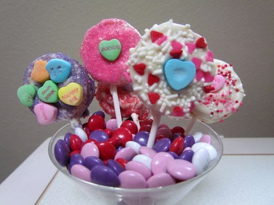 How to Make Oreo Cookie Pops Valentine's Day Treat Party Favors!
