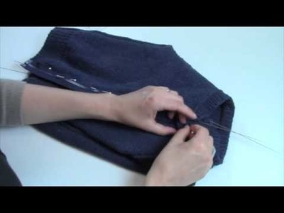 How-To: Sew in a Zipper