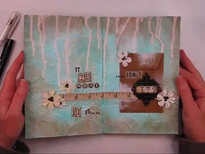 It Is What It Is March Art Journaling Feature from Shari Carroll