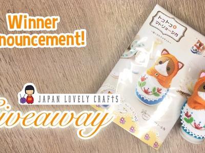 JapanLovelyCrafts Matryoshka Kit Winner
