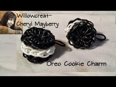 Oreo Cookie Charm - Made on a Hook