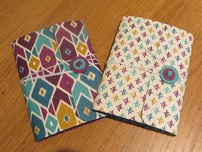 Pocket Notebook Tutorial, Including a Handmade Notebook.