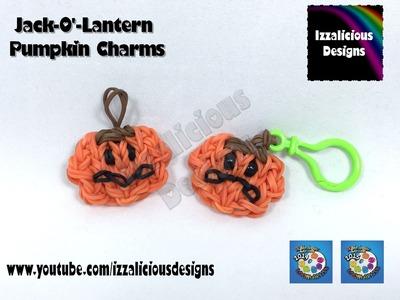 Rainbow Loom Pumpkin Charm for Halloween