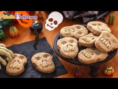 Skull cookies - Halloween recipe