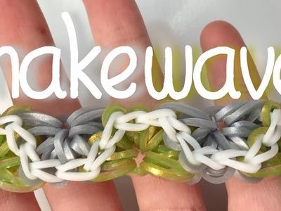 Snake Wave Bracelet | Rainbow Loom Tutorial | Full Loom