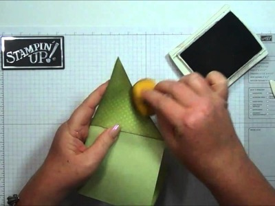 Tri Fold Pocket card with Dawn