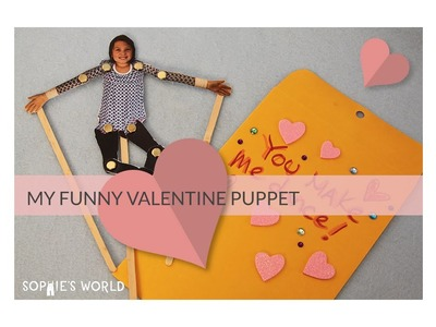 Valentine Photo Puppets|Sophie's World