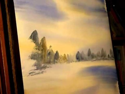 Watercolour Painting Tutorial - Banners Gate, Sutton Coldfield