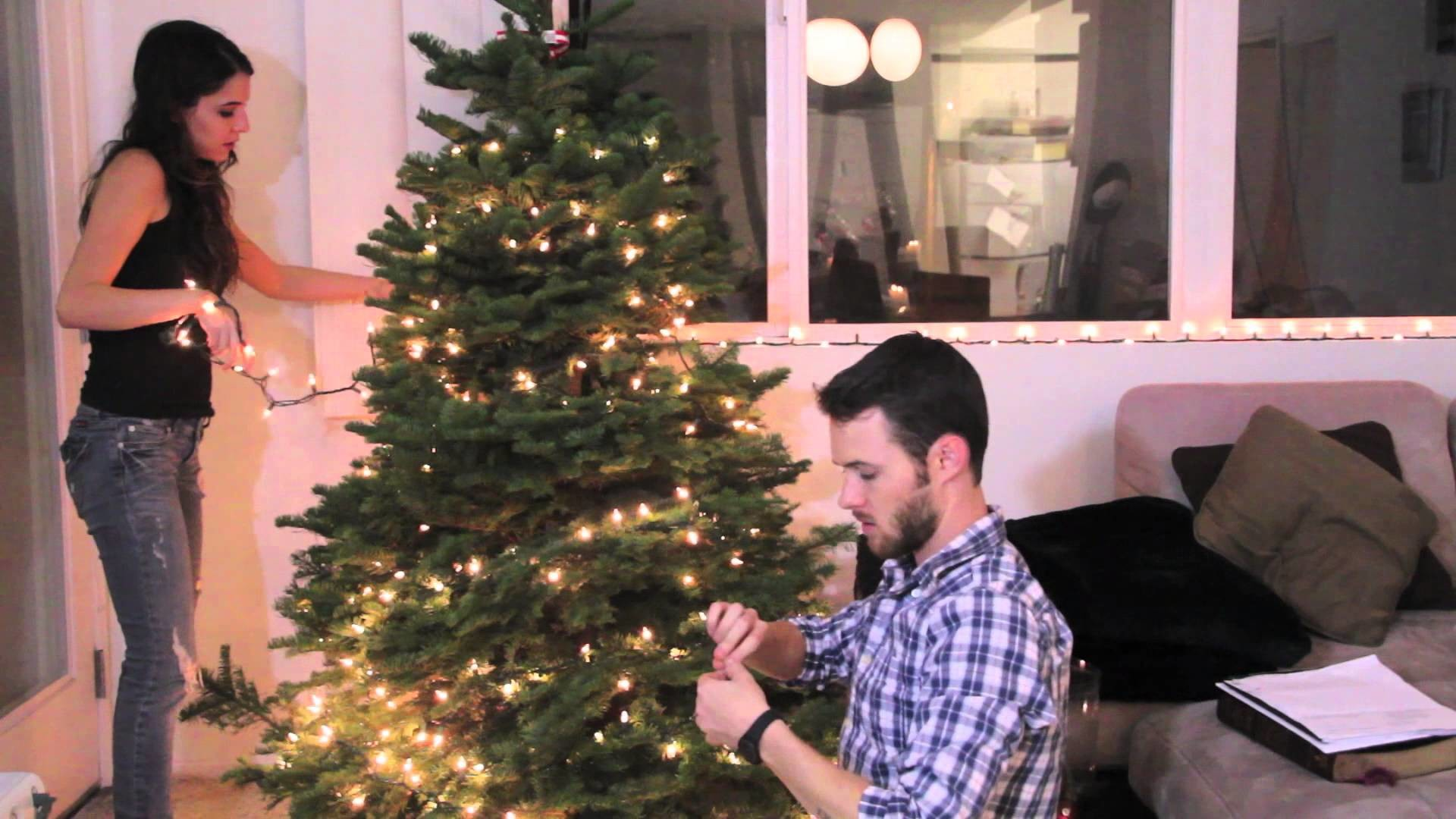 Christmas Decorating With Byron | Rachel Talbott