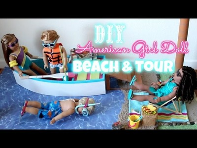 DIY American Girl Doll Beach and Tour