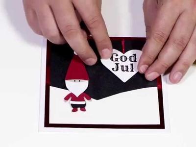 """DIY by Panduro: Christmas Card """"Santa"""""""