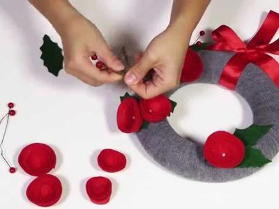 DIY by Panduro: Wreath Rose