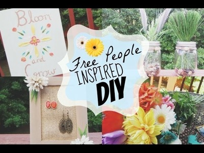 ❊ DIY: Free People Inspired Decor ❊