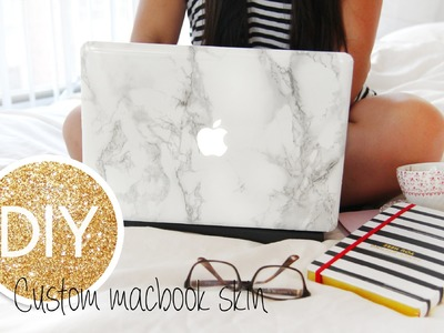 DIY Marble Macbook Skin.decal.cover