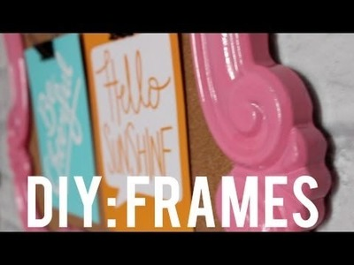 DIY: Painting Frames & Thrifted Objects