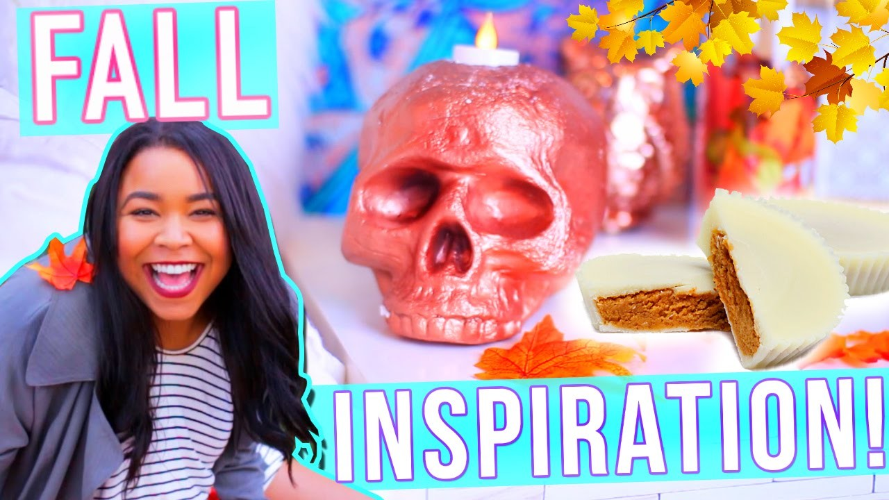 DIY Room Decor, Outfit Ideas +DIY Treat! FALL INSPIRATION!