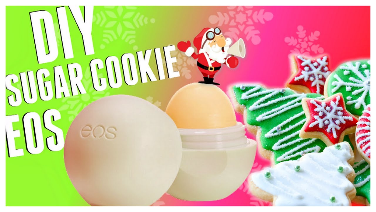 DIY Sugar Cookie EOS Lip Balm! | Make an EASY Holiday DIY EOS! 2015