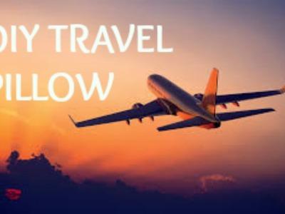 DIY travel pillow